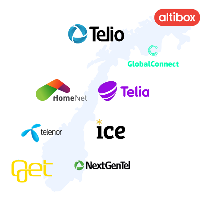 bredbåndsleverandører i Norge