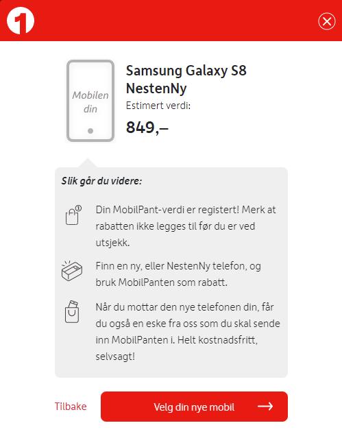 Mobilpant Samsung Galaxy S8